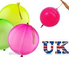 100  x LARGE PUNCH BALLOONS PARTY BAG FILLERS GOODS CHILDRENS LOOT BAGS TOYS UK