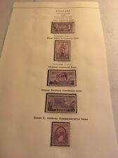 USA Collection Of USA. 1936 Issue  On Page