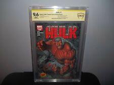 HULK #1 CBCS 9.6 NM 1st Red Hulk! DF Keown Variant ED McGuinness Signed!! (CGC)