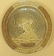 "VINTAGE WADE WAGON TRAIN  5.5"" HIGH 1960 WESTERN TV SERIES DISH"