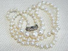 Pearl White Gold Vintage Fine Jewellery