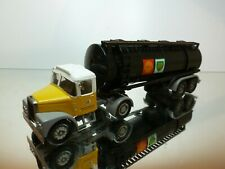 CORGI TOYS SCAMMELL TRUCK + TANKER SHELL BP - YELLOW 1:50? - VERY GOOD CONDITION