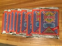 1992 Upper Deck Baseball Card Packs Sealed - 10 Packs (Lot) - Collector's Choice
