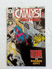 Catalyst: Agents of Change  (1994 Dark Horse) #5 VF+