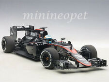 AUTOart 18121 MCLAREN MP4-30 F1 2015 BARCELONA SPAIN F ALONSO #14 1/18 BLACK