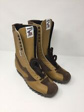 Norman Walsh 6 1/2 Brown High Tops Shoes Boots