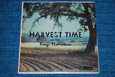 KINGS HARVESTERS Harvest Time XIAN FOLK COUNTRY GOSPEL LP steel guitar