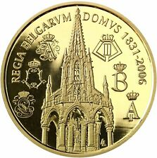 Belgien 100 Euro Gold Münze 175 Jahre Belgische Dynastie 2006 PP Goldmünze