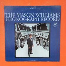 MASON WILLIAMS Phonograph Record WS1729 LP Vinyl VG++ Cover VG+