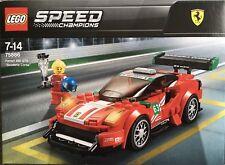 Bnib Lego Speed Champions Ferrari 488 GT3 Scuderia Corsa 75886 Set