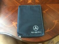 MERCEDES A CLASS W169 OWNERS MANUALS SERVICE BOOK PACK WALLET