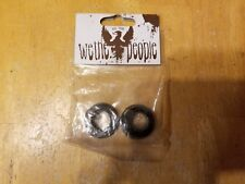 We the People Front Hub Cone Nuts 14mm - BMX