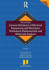 Routledge German Dictionary of Electrical Engineering and Electronics Worterbuch