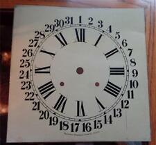 Pequegnat Calendar Clock Dial Store Office Regulator Original Painted Dial