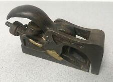 Antique Cast iron Bull Nose Plane Possible Edward Preston or Record
