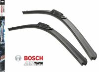 BOSCH AEROTWIN FLAT FRONT WIPER BLADE SET 600/400 MM 24/16 INCH