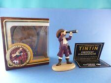 "Figurine TINTIN ""Les aventures de Tintin"" François de haddoque Carrefour market"
