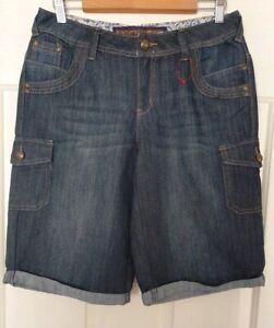 Ladies size 12 Boyfriend Denim Shorts- Target