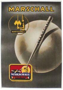 Original vintage poster MARSCHALL GRAMOPHONE NEEDLES c.1930