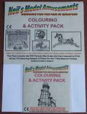 Fairground Themed Colouring & Wordsearch Activity Pack