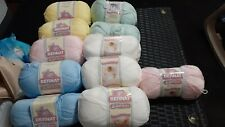 Bernat Softee Baby Yarn LOT of 11