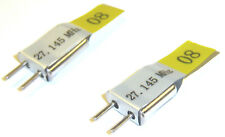 27mhz AM Crystal Set 27 mhz 27.145 TX & RX Yellow Ch 8