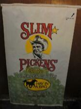 Vintage Slim Pickens Hay In A Bag Alfafa Cubes For Horses Dell City Texas Ranch