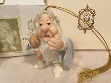Lenox Snow White Seven Dwarfs SLEEPY XMAS EVE FINE CHINA 24KT Ornament w BOX