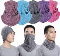Outdoor Winter Warm Fleece Half Face Mask Cover Neck Guard Snowboard Ski Cycling