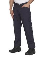 Pantaloni da uomo blu gamba dritti Taglia 48