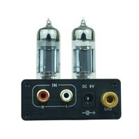 Stereo 6J5 Vacuum Tube mm Phono Preamp Stage Preamplifier for Turntable / Record
