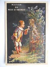 "Chromo ""Maison du petit Saint Thomas"""