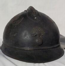 ELMETTO FRANCESE MOD 915 ADRIAN TAGLIA ENORME WW1 helmet casque elmo 1GM guscio