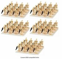 100 X  BATTLE DROID ARMY STAR WARS custom Lego MINI FIGURES ARMY NEW