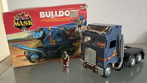mask toys kenner m.a.s.k Bulldoze/Bulldog Boris Bushkin excellent condition