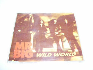 MR BIG - WILD WORLD * 3 TRACK CD MAXI GERMANY 1993 *
