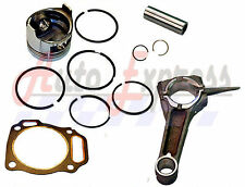 Honda GX390 13hp PISTON & RING PIN & CLIPS WITH CONNECTING ROD  FREE HEAD GASKET