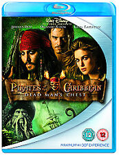 Pirates Of The Caribbean: Dead Man's Chest Blu-ray  New