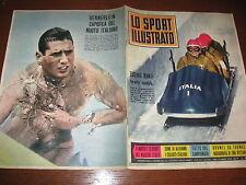 LO SPORT ILLUSTRATO GAZZETTA 1961/8 BOB MONTI INTER SPAL JUVE POSTER SAMPDORIA
