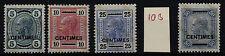 Postfrische Briefmarken aus Levante (bis 1945)