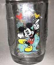 Mickey Mouse Dancing 14 oz Glass; Disney World; McDonalds; 2000