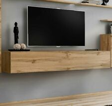 Mueble TV modelo Berit 180x30 en color roble