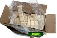 LOT of 40 GERMAN ARMY BUNDESWEHR WEAPON CLEANING COTTON CLOTHS WICKS