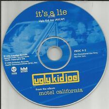 UGLY KID JOE It's a Lie RARE PICTURE DISC PROMO Radio DJ CD Single 1996 MINT USA