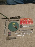 ESTATE FIND Vintage tool lot INDESTRO, ZIPPO, GLOBEMASTER, E.C. ATKINS, OXWALL