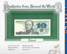 World Banknotes Poland 1982 10 Zlotych P 148a GEM UNC Prefix T