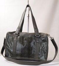 Mali Sacs Green Genuine Leather & Snake Pocket shoulder/Satchel Bag