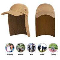 Fishing Cap with Ear Neck Flap Cover Baseball Hat Camping Hiking Sun Visor Hat.