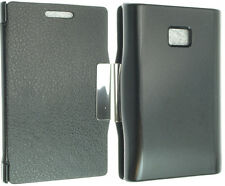 FOR LG L3 OPTIMUS E400 LUXURY LEATHER CASE COVER FLIP POUCH BACK SKIN NEW