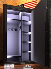 Prewired Gun Safe Light flexible cuttable 16.4 ft LED Strip Kit w/ motion sensor